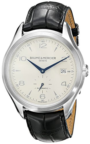 Baume-Mercier-Mens-BMMOA10052-Clifton-Analog-Display-Swiss-Automatic-Black-Watch