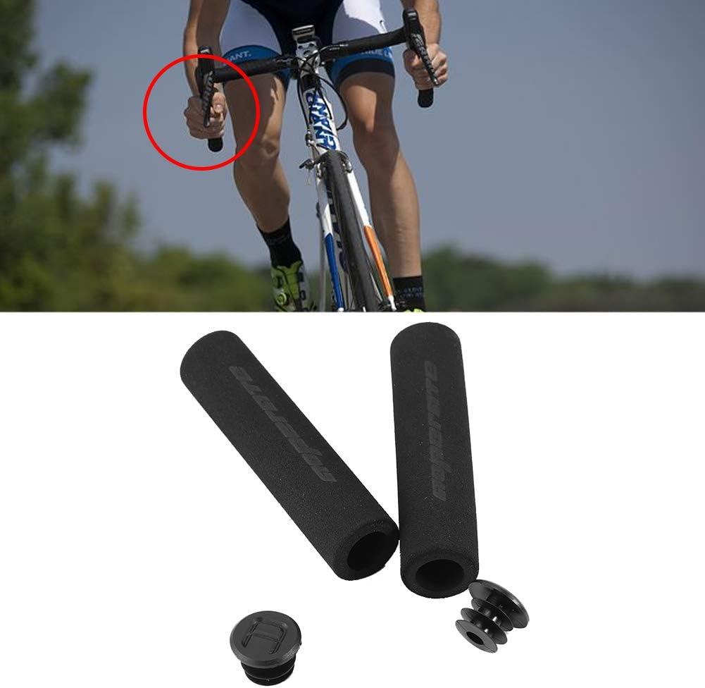 Poign/ées de Bicyclette R/étro en Cuir PU de Remplacement VGEBY1 1 Paire de Poign/ées de Guidon de V/élo Verrouillables