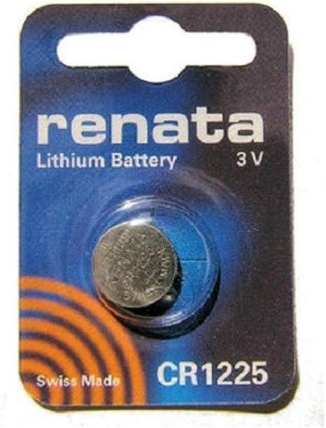 1 x Renata CR 1225 3V Lithium Batterie Knopfzelle Blister NEU