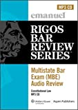 Multistate Bar Exam Audio Review: Constitutional Law (Rigos Bar Review)