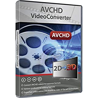 AVCHD Video Converter: Edit and Convert Files from over 50 Formats into any Video or Audio Format - Great Program for Video Cutting - For Windows 10 / 8.1 / 8 / 7