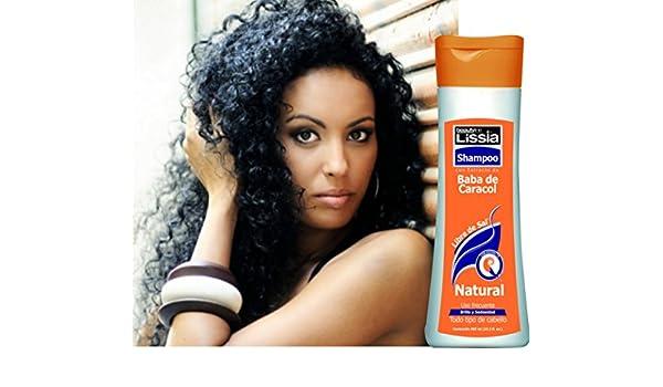 Amazon.com : Lissia- Baba De Caracol Shampoo. Diseñado especialmente para devolver a su cabello el aspecto natural, puede ser utilizado en todo tipo de ...