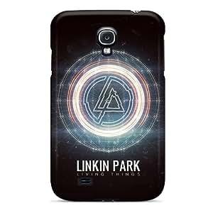 LisaSwinburnson Samsung Galaxy S4 Shock Absorbent Hard Phone Covers Unique Design Fashion Linkin Park Living Things Skin [sPw15267hnfn] WANGJING JINDA