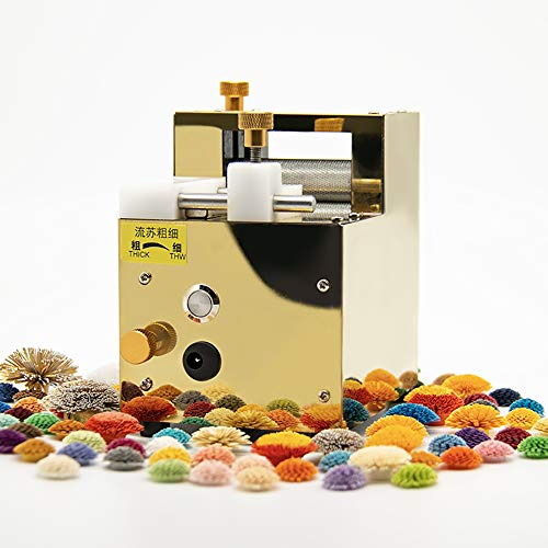 T-king Electric Rechargeable Paper Quilling Machine, Paper Art Tassel Paper-Rolling Machine 3D Handmade Color Paper Cutting Roll