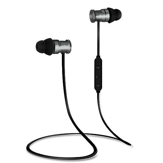 161 opinioni per EC Technology Auricolari Bluetooth 4.1 per con Microfono, e magneti Headset