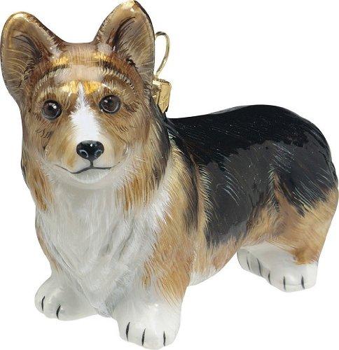 Joy to the World Collectibles Pet Ornament, Pembroke Tri Color Welsh Corgi