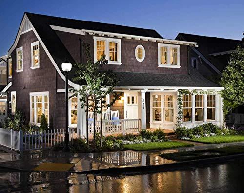 Dusk to Dawn Light Bulbs, Auto ON/Off LED Smart Bulbs 7W A19 4000K, 60W Equivalent, Porch Light Bulbs for Yard Patio Garage Garden 2 Pack by Mingfuxin