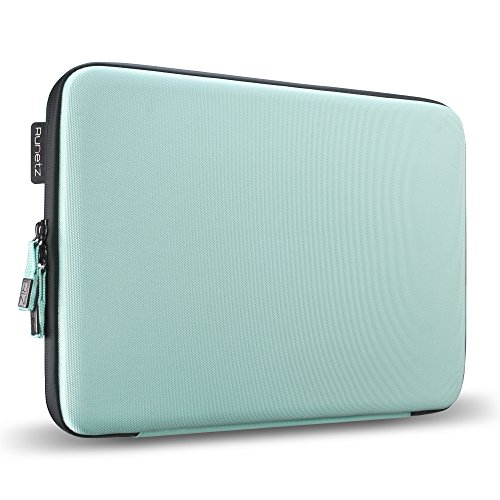 """Runetz - 13"""" TEAL Hard Sleeve for MacBook Pro 13.3"""" with or"""