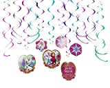 Foil Swirl Decorations | Birthday | Disney Frozen Collection