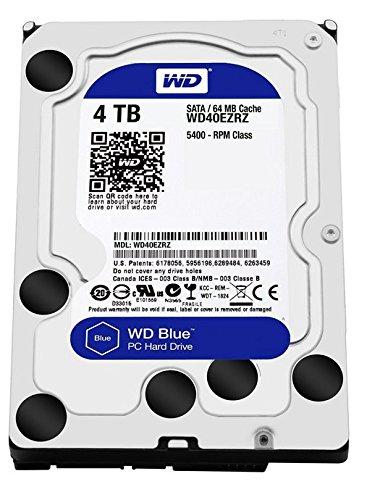 ウエスタンデジタル 【バルク品】3.5インチ 内蔵ハードディスク 4.0TBWesternDigital WD Blue WD40EZRZ-RT