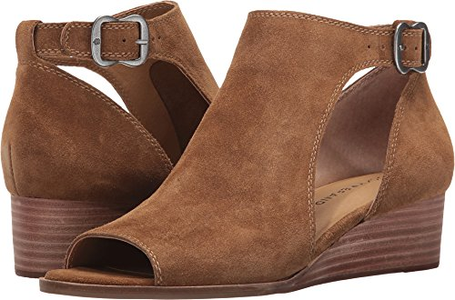 Boho-Chic Vacation & Fall Looks - Standard & Plus Size Styless - Lucky Brand Women's Rixanne Tapenade Sandal