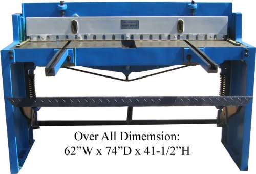 52'' FOOT SHEAR Sheet Metal Cutter 16 Gauge RATE within 48 states