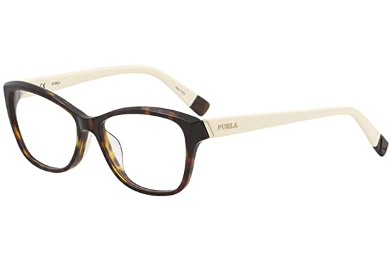 87962eb1f465 Furla Womens Eyeglasses VU4908 VU/4908 0779 Tortoise Full Rim ...