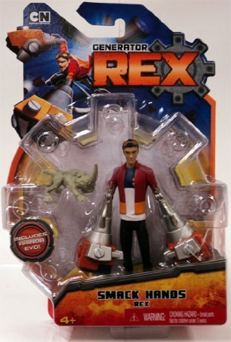Generator Rex Action Figure Smack Hands Rex