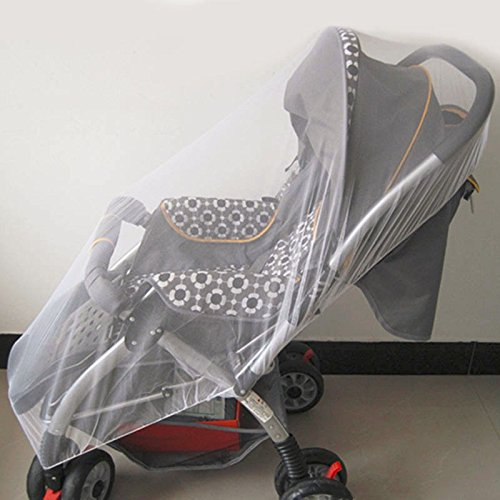 Unilever9 - Summer Baby Children Buggy Pram Pushchair Mosquito Net Fly Midge Insect Bug Cover Stroller Protection Mesh Stroller Accessories