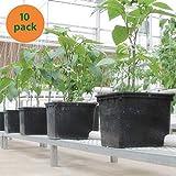 10 - Pack Hydroponic Dutch Bucket Pot, 11