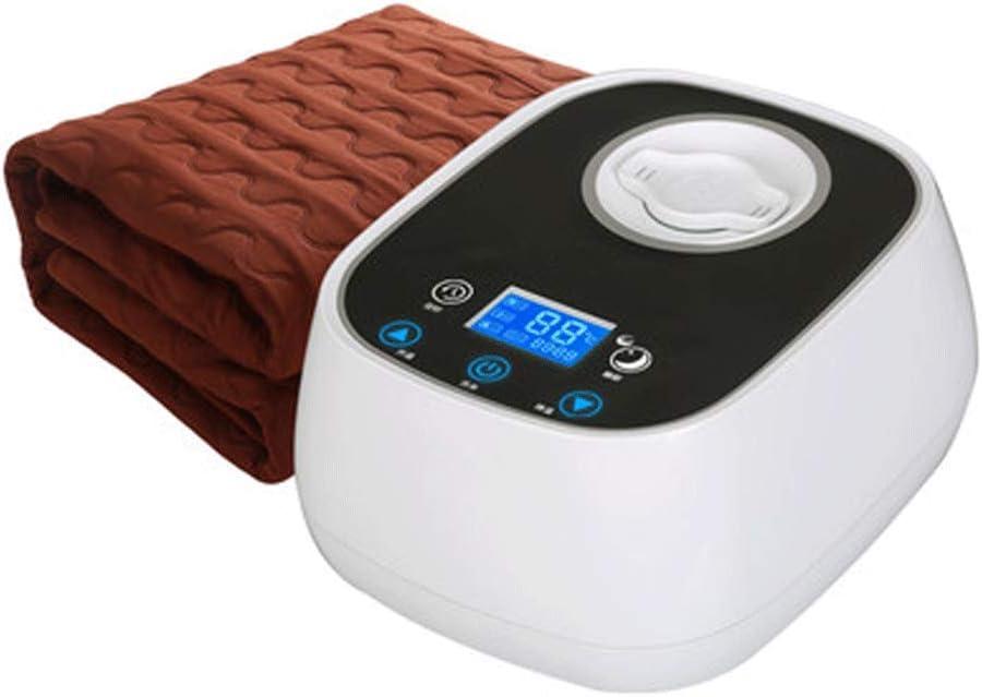 TINGYIN Manta de plomería con calefacción eléctrica, colchón eléctrico de 180 * 200 cm, Manta con calefacción eléctrica Inteligente de Temperatura Constante, Individual/Doble/Tres
