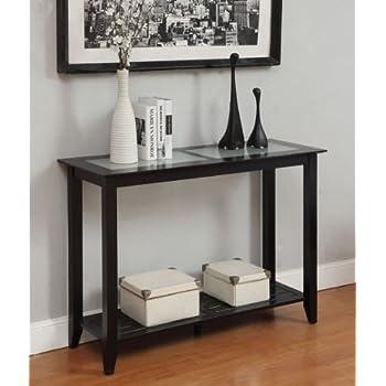 Convenience Concepts Carmel Console Table, Black