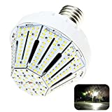60w corn light - Phenas 60W LED Corn Light Bulb, Large Mogul E39 Base, 6000K, 360° Street/Garden Lighting Replacement for 400W to 600W Metal Halide Bulb, HID, CFL, MH, HID, HPS(UL-Listed)