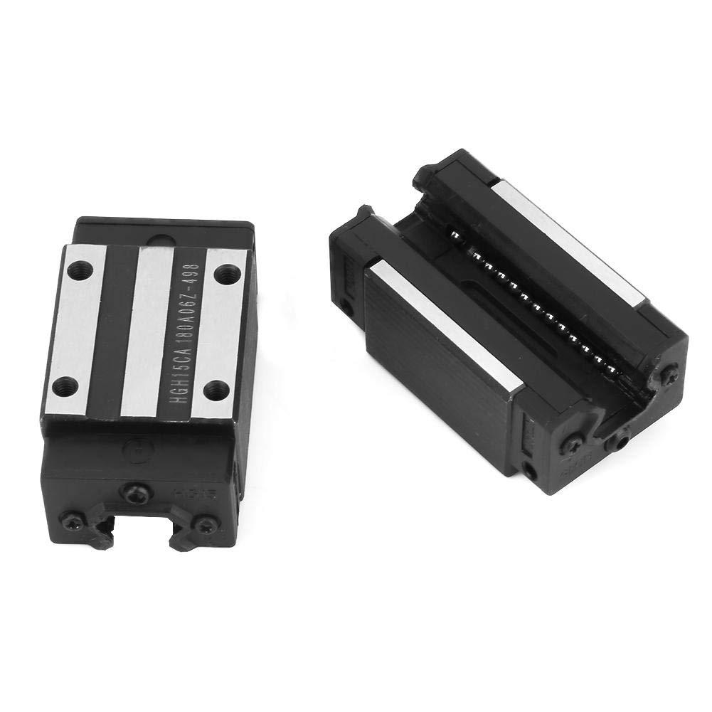 1pc HGR20-300mm Linear Guide Rail 2pcs Carriages Bearing Block Slider Guide Rail Slider