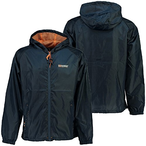Geographical Manteau Bleu Homme Norway Imperméable F6rwFO