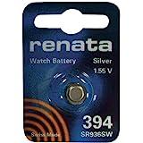Renata SR936SW Model 394 Silver Oxide 1.55V Watch Battery