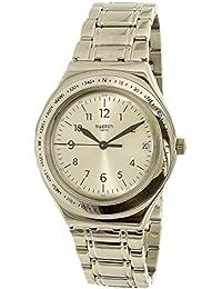 Women's Silver Joe YGS471G Silver Stainless-Steel Swiss Quartz Watch