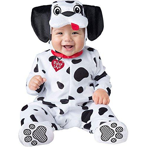 Baby Dalmatian Puppy Dog Costume size Small 6-12 -