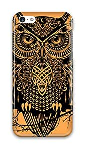 ZhouBrand Cool Painting Slim PC Snap on Hard Phone Cover Fit For Iphone 5c