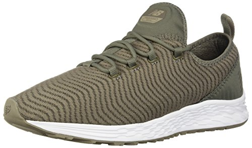 (New Balance Men's Arishi v1 Fresh Foam Running Shoe, Olive, 12 4E US)