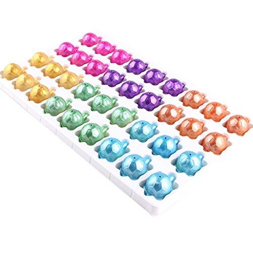 Perfk ランダム カメ亀モデル ハッチ 水中孵化玩具 子ども 誕生日プレゼント 36点パックの商品画像