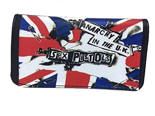 Tobacco Case Pouch Synthetic Leather Smoke For Rolling Cigars Anarchy In the UK Sex Pistols by Tfar