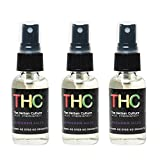 THC Concentrated Room Spray and Auto Air Freshener 3 Pack (1 oz Glass Bottles) - Lavender Haze - Perfect for Removing Blunt, Cigarette and Cigar Smoke Odors …