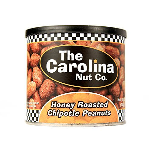 The Carolina Nut Company Peanuts, Honey Roasted Chipotle, 12 Ounce