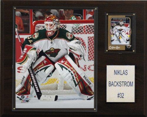 NHL Niklas Backstrom Minnesota Wild Player Plaque