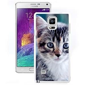 New Beautiful Custom Designed Cover Case For Samsung Galaxy Note 4 N910A N910T N910P N910V N910R4 With Kitty (2) Phone Case