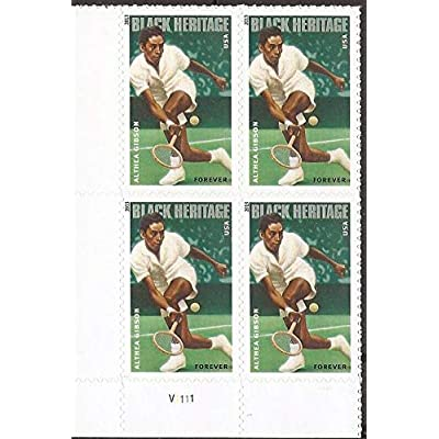 Althea Gibson Black Heritage Series Block of Four Forever Postage Stamps Scott 4803: Everything Else