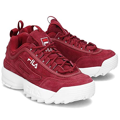 Cr Fila 1010553 Bordeaux S Disruptor Low Wmn 40k wCzxA4qCI
