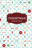 """Christmas Shopping Tracker: Wrapping Paper Cover Holiday Shopping List 