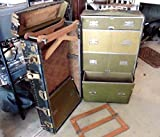 Vintage Wardrobe Steamer Travel Just A Real Good Trunk Hole Proof Chest Railway