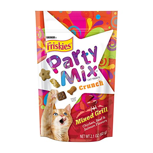 - American Distribution Mix Grill Cat Treat, 2.1 oz