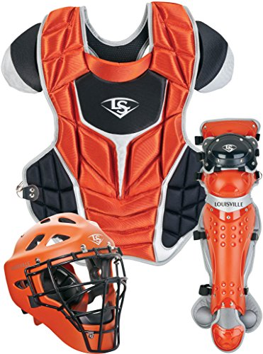 Louisville Slugger PGFPAS6 Burnt Orange Series 7 Fastpitch Adult Catchers (Adult Softball Catchers)