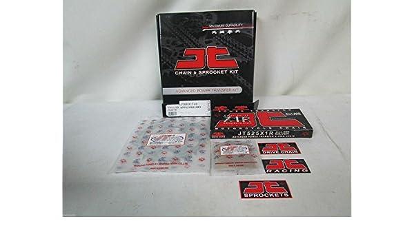 Kit Transmisión cadena corona piñón para Kawasaki ZX-6R ...