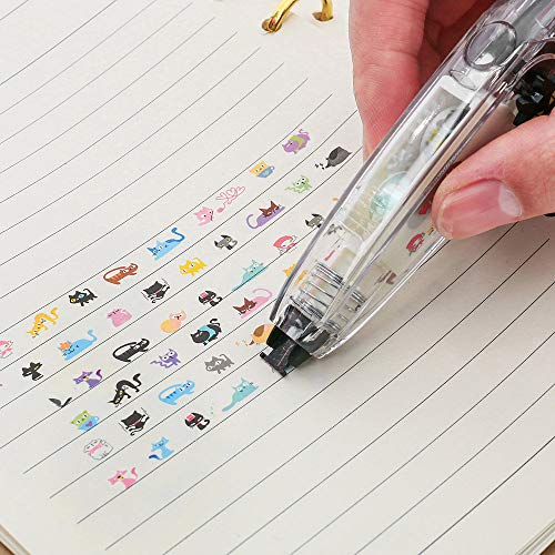 Hot Sale!DEESEE(TM)Creative Stationery Push Correction Tape Lace School Supplies (A)