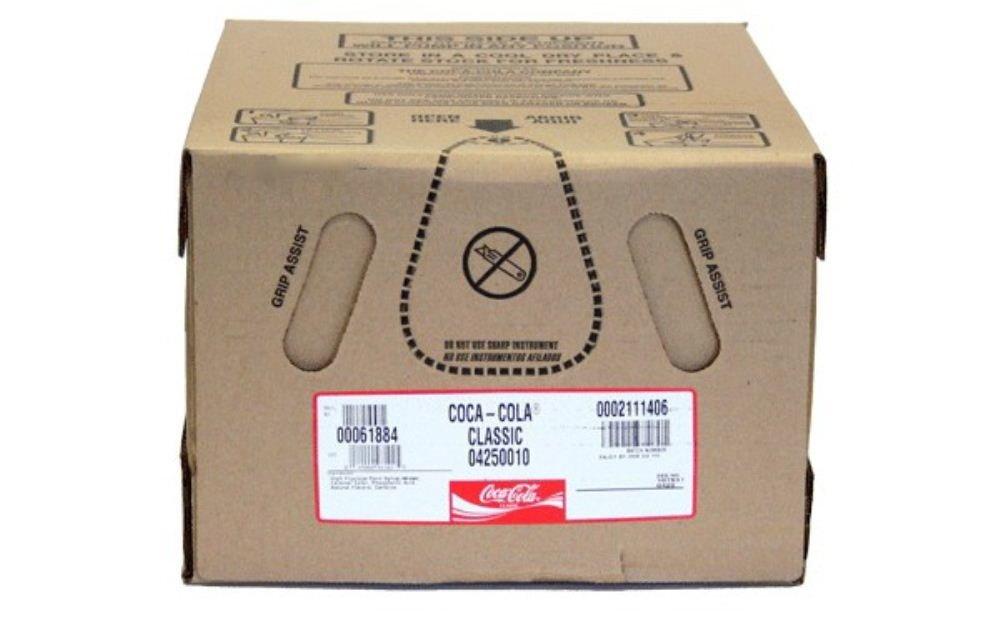 B00HE42V8Y Coke Classic Soda Syrup 2.5 Gallon Bag in Box BIB 51GjZkKXe9L._SL1000_