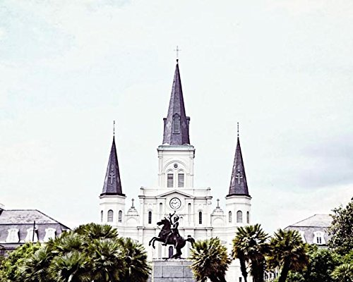 Fine Art Photography New Orleans - New Orleans Photography Jackson Square Architectural photo 8x10 inch Print