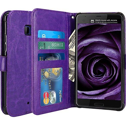 HTC U Ultra Case, LK Luxury PU Leather Wallet Flip...