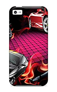 Johnathan silvera's Shop Hot Excellent Design Drawn S Cars And A Girl Case Cover For Iphone 5c
