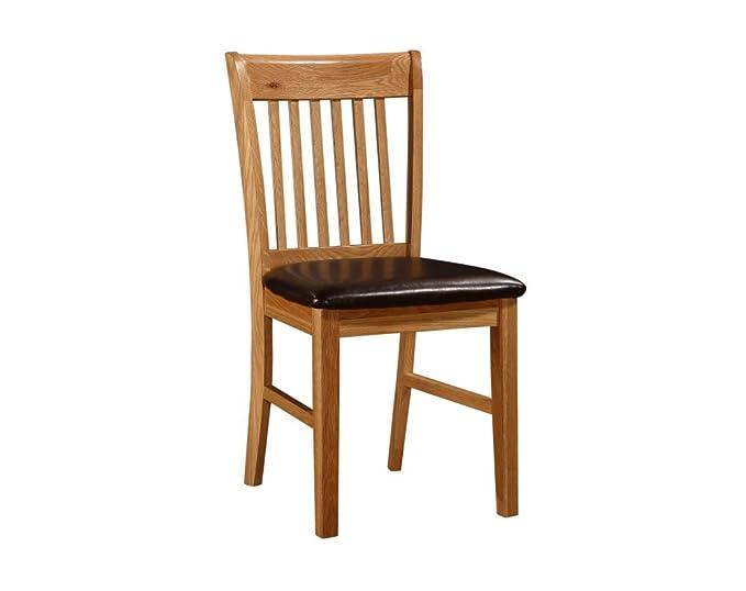 Mesa de comedor de roble macizo HGG y 6 sillas - mesa de comedor ...