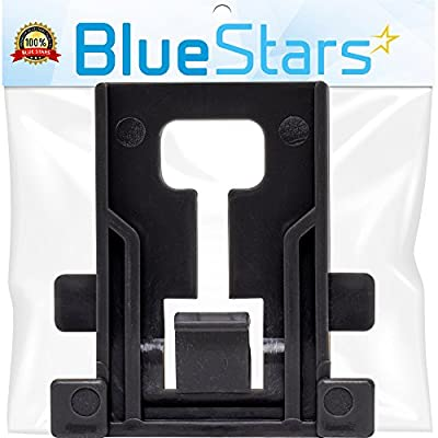 Ultra Durable W10195840 Dishwasher Rack Adjuster Positioner Replacement Part by Blue Stars - Exact Fit for Whirlpool Kenmore Kitchenaid Dishwashers - Replaces WPW10195840